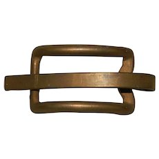 Albert Bliss 1947 Solid Bronze Belt Buckle