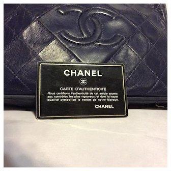 Chanel Lambskin Quilted Shoulder Handbag