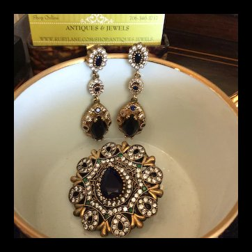 Stunning Sapphire Earrings