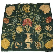 17 th century English embroidery .