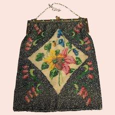 Beaded purse circa 1900