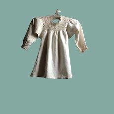 19 th century linen smock . Child's