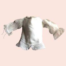19 th century Small child's dress in organza