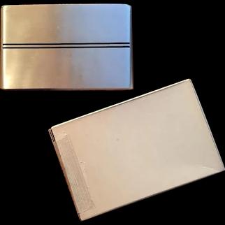 Speedlined Aluminum Cigarette Case