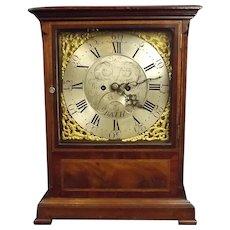 Fine Circa 1810 Mahogany Bracket Clock By William Bullock Of Bath