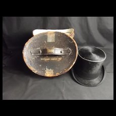 Buffalo Bill Wild West Show Top Hat Owned By William Jones Rorkes Drift VC