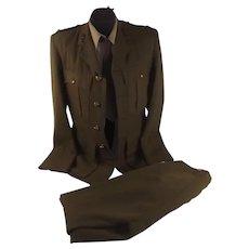 WW2 Period Named Royal Artillery No. 2 Uniform