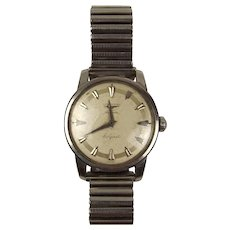 Longines Conquest Stainless Steel Automatic Wrist Watch – Gents c1955