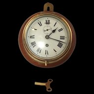 A Ships Bulkhead Clock By Elliot Brothers