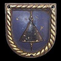 WW2 HMS Stormcloud Bronze Boats Badge 1944 Minesweeper