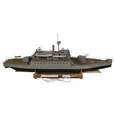 Radio Controlled HMS Humber Monitor (1913) Model & Receiver