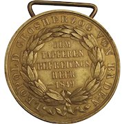 Baden Commemorative Medal 1849