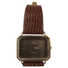18ct Gold Omega De Ville Wristwatch c1972
