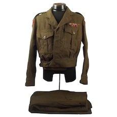 Home Guard 13th Hampshire (Itchen) Regiment Uniform 1952
