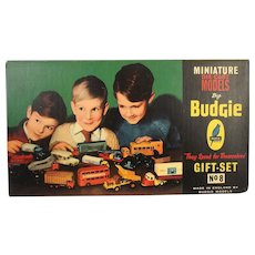 Boxed Budgie Toys Gift Set 8 Miniature Die-Cast Models