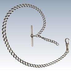 Silver Albert Watch Chain 1898