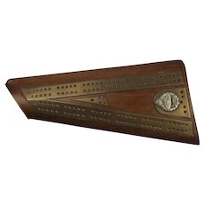WW1 Era Royal Tank Regiment Trench Art Cribbage Board