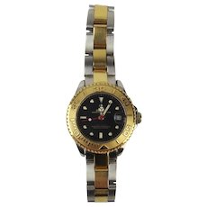 Ladies Boxed Stainless Steel & Gold  Rolex Yacht-Master Wristwatch