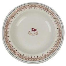 White Star Line Losol Ware Stonier China Soup Bowl c1922