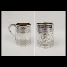 1805 Georgian Silver Christening Mug