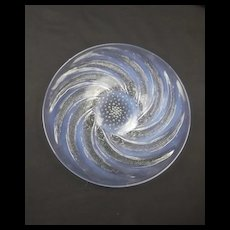 Lalique Poissons Pattern Glass Plate
