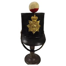 Pre 1855 Albert Pattern Officers Shako 54th West Norfolk Regt Of Foot