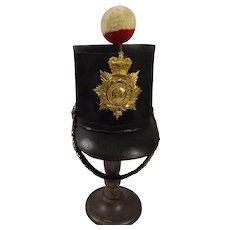Pre 1855 Albert Pattern Officers Shako 54th West Norfolk Regt Of Foot