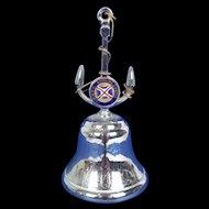 1950's Union Castle R.M.M.V. Stirling Castle Nautical Table Bell