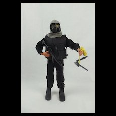 Early 1970's Action Man With Later SAS Uniform