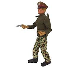 Vintage Original Palitoy Action Man Talking Commander c1981