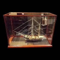 Cased 1742 HM Bomb Vessel Granado Victory Models Well Finished 1:64 Scale