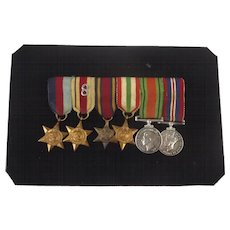 WW2 Impressive Set Of 8th Army Miniature Medals