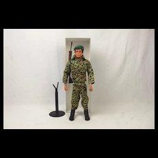 Vintage Original Palitoy Action Man Royal Marines Combat Uniform c1980