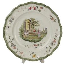 18th Century Veuve Perrin Plate #2