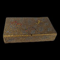 Victorian Chinese Lacquer Box