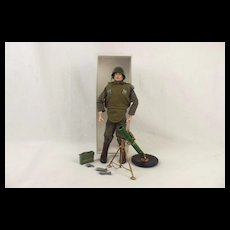 1969 Infantry Support Weapons Palitoy Action Man Figure