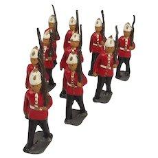 Britains Lead Figure Set - East Surrey Regiment c1912