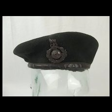 Royal Marines Beret Complete with Cap Badge