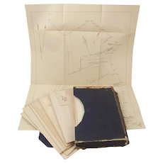 Battle Of Jutland : Official Despatches Map Set c1920