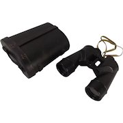 Cased Bausch And Lomb WWII USA Navy 7x50 Military Binoculars #1
