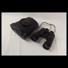 Cased Bausch And Lomb WWII USA Navy 7x50 Military Binoculars #2