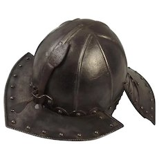 17th Century English Civil War Period Lobster Helmet
