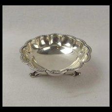 Silver Bon Bon Dish c1927