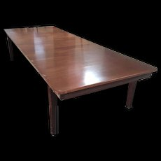 Mahogany Dining Table From The Royal Marines Museum No.2 Churchill Eisenhower