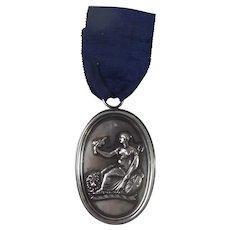 1801 Battle Of Abukir Bay Medal To Lt Brooke