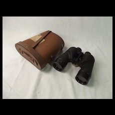 Cased REL / Canada WWII 1945 Navy 7x50 Military Binoculars #1