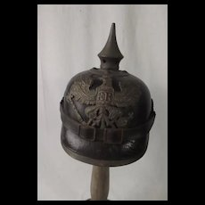 Prussian Reservist M1891 Officers Pickelhaube