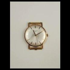 Gents 9ct Yellow Gold Longines Wrist Watch c1972