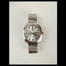 Gents Stainless Steel Tressa Automatic Wrist Watch c1970's
