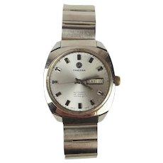 Gents Stainless Steel Tressa Automatic Wrist Watch c1970's